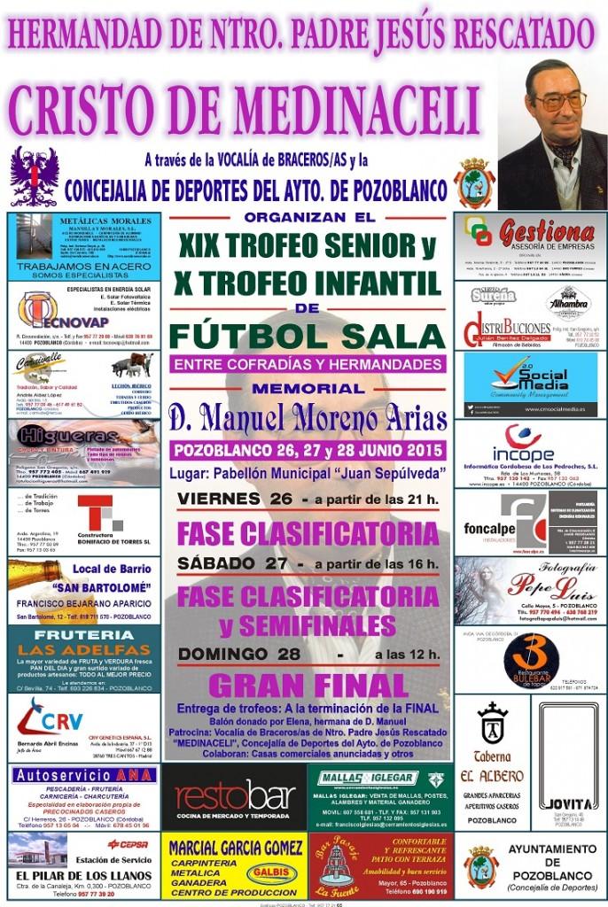 Fútbol Cristo Medinaceli 2015 redu